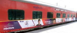 Election Commission of India Collaborates With Indian Railways For Voter Awareness Campaign: Lok Sabha Elections 2019